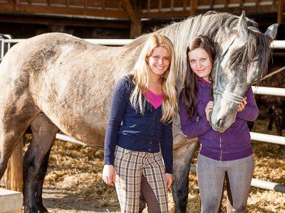 Faire aimer l'équitation