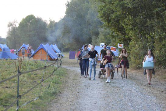 Camp de loisir en Somme